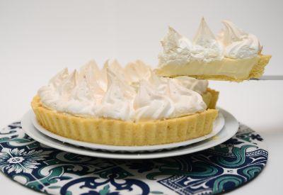Torta de limão - Frango & Cia