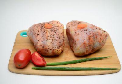 Peito de frango recheado - Frango & Cia